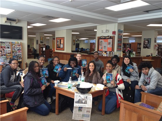 The Book, The Key, and The Crown Book Club Meeting